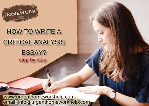 Help writing critical essay