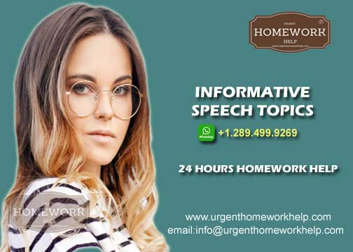 informative speech topics for college