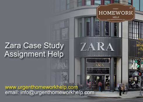 zara case study assignment help
